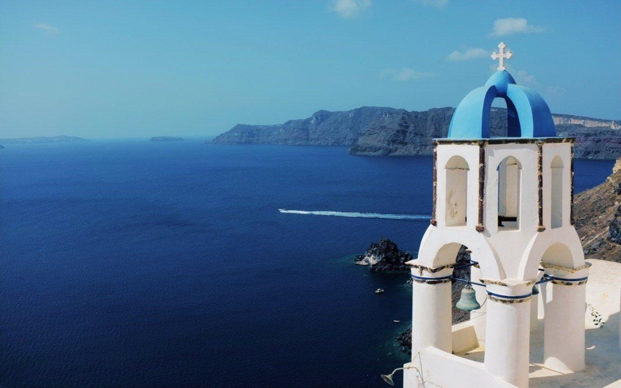 Atenas y las Islas Griegas. Santorini